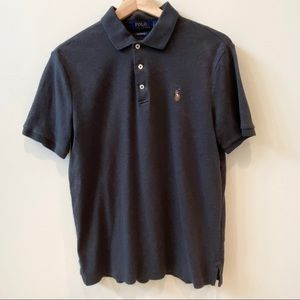 Men's Small Polo Ralph Lauren Charcoal Gray